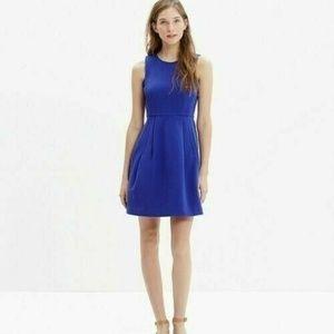 Madewell 4 Cobalt Blue Abroad Dress C0497